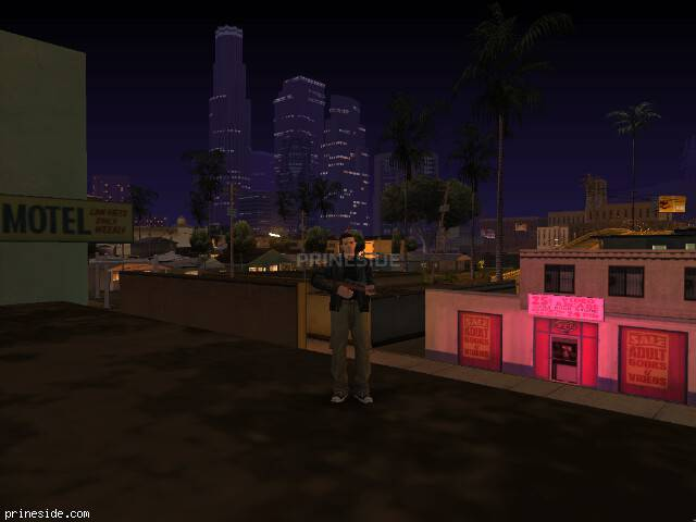 GTA San Andreas weather ID -501 at 22 hours