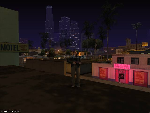 GTA San Andreas weather ID 11 at 23 hours