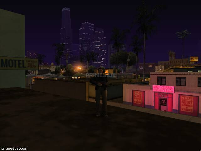 GTA San Andreas weather ID -501 at 2 hours