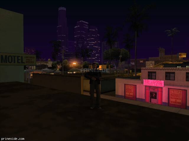 GTA San Andreas weather ID 11 at 4 hours