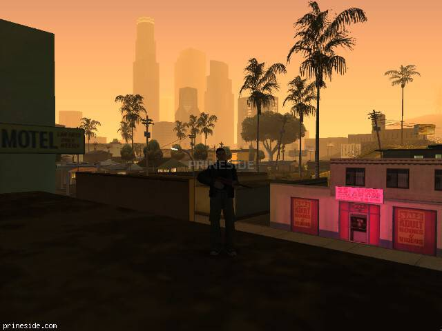 GTA San Andreas weather ID 11 at 6 hours