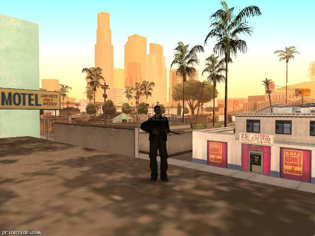GTA San Andreas weather ID -1013 at 7 hours