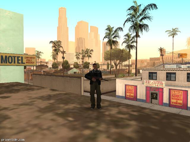 GTA San Andreas weather ID 523 at 8 hours