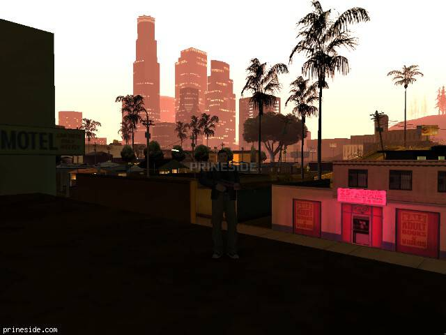 GTA San Andreas weather ID 110 at 0 hours