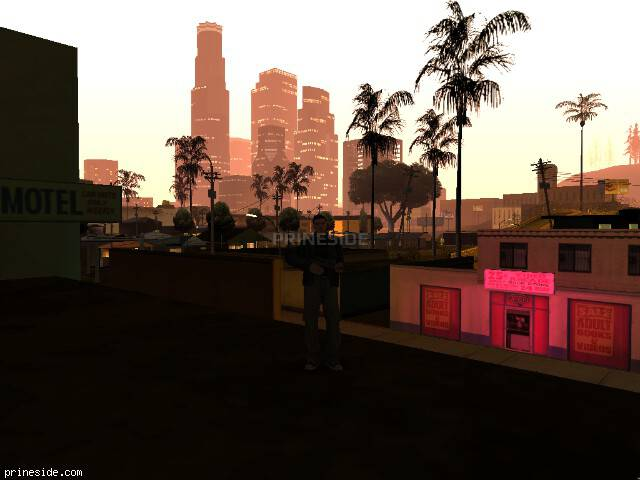 GTA San Andreas weather ID 110 at 1 hours