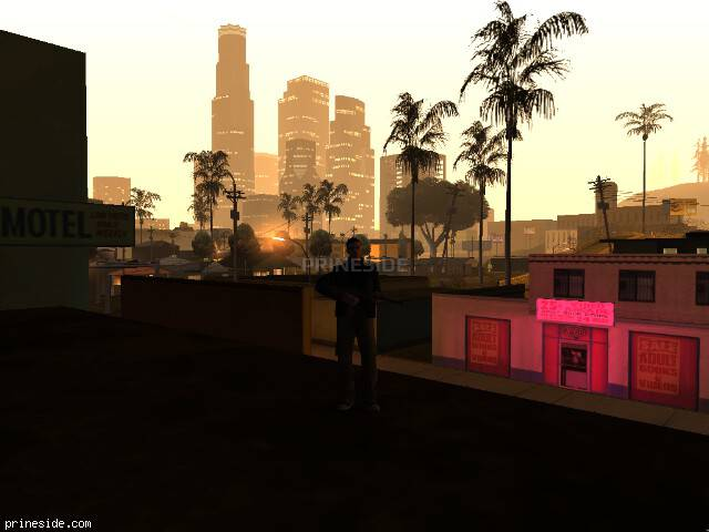 GTA San Andreas weather ID 110 at 5 hours