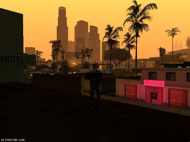 GTA San Andreas weather ID 110 at 6 hours