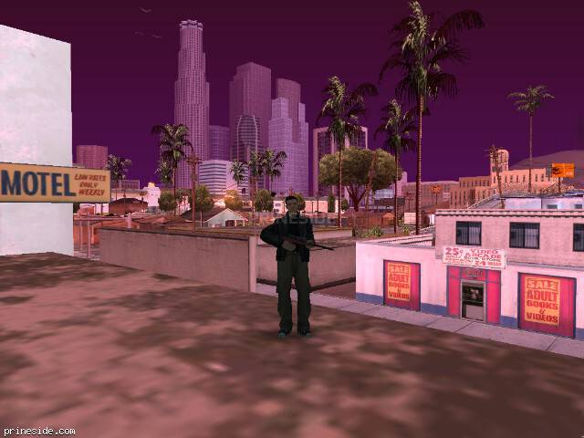 GTA San Andreas weather ID 110 at 8 hours