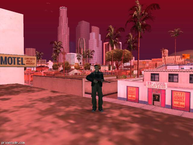 GTA San Andreas weather ID 110 at 9 hours
