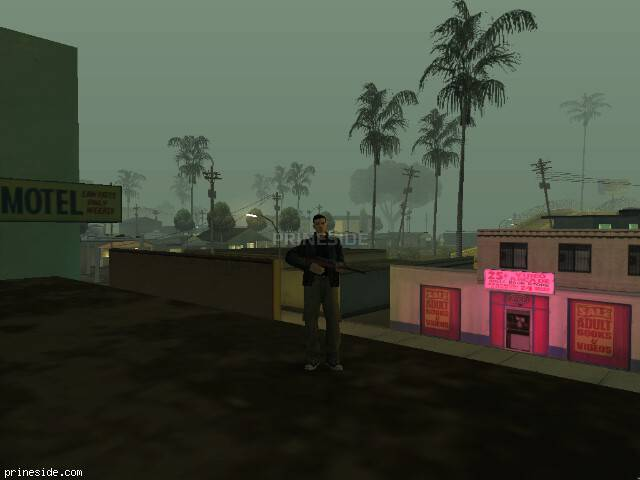 GTA San Andreas weather ID 112 at 0 hours