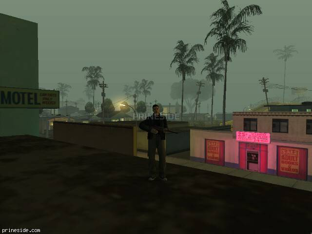GTA San Andreas weather ID 624 at 1 hours