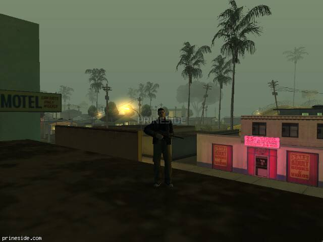 GTA San Andreas weather ID 624 at 5 hours
