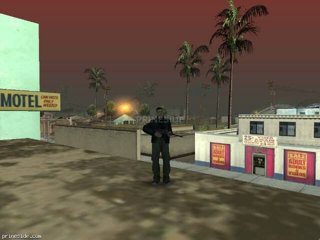 GTA San Andreas weather ID 624 at 8 hours