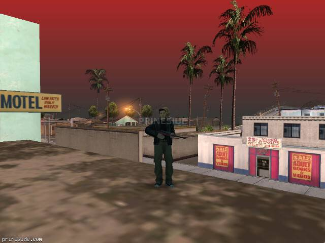 GTA San Andreas weather ID 112 at 9 hours