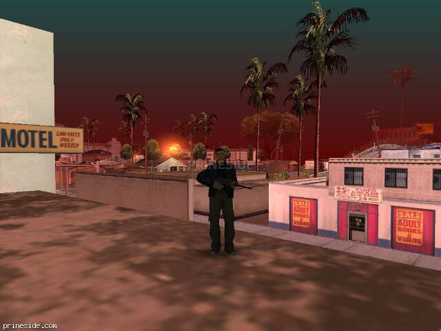 GTA San Andreas weather ID 114 at 8 hours