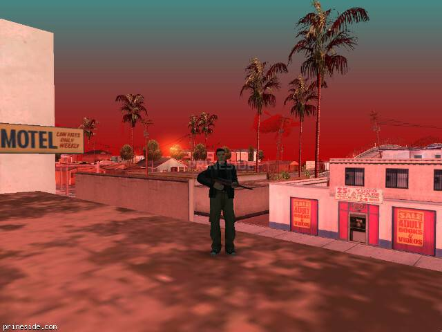 GTA San Andreas weather ID 114 at 9 hours