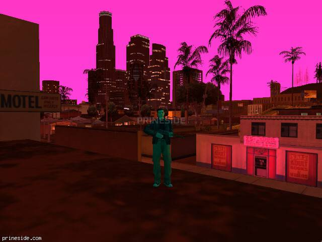 GTA San Andreas weather ID -140 at 21 hours