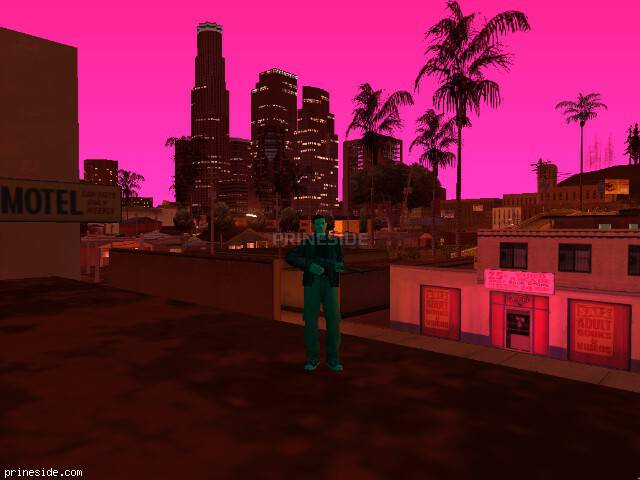 GTA San Andreas weather ID 116 at 22 hours