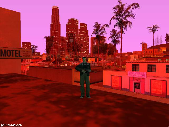 GTA San Andreas weather ID -140 at 23 hours