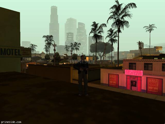 GTA San Andreas weather ID -1164 at 2 hours