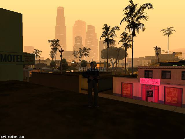 GTA San Andreas weather ID -396 at 4 hours