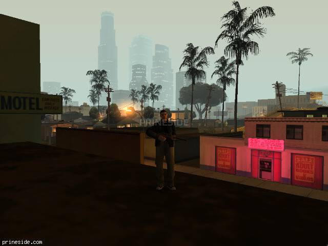 GTA San Andreas weather ID 373 at 1 hours