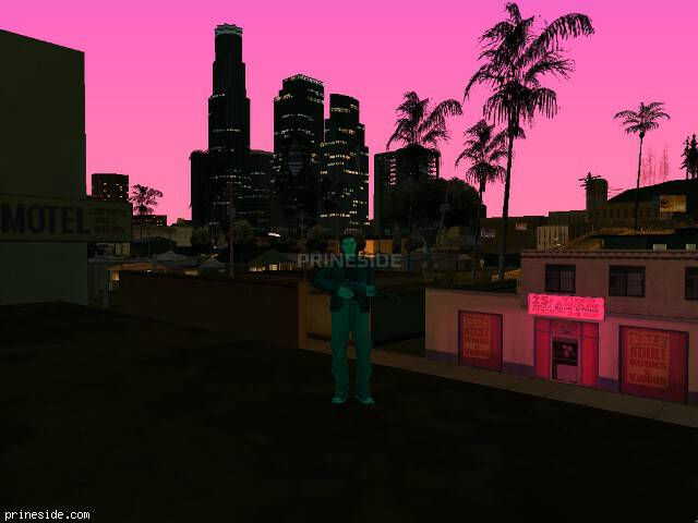 GTA San Andreas weather ID -139 at 21 hours