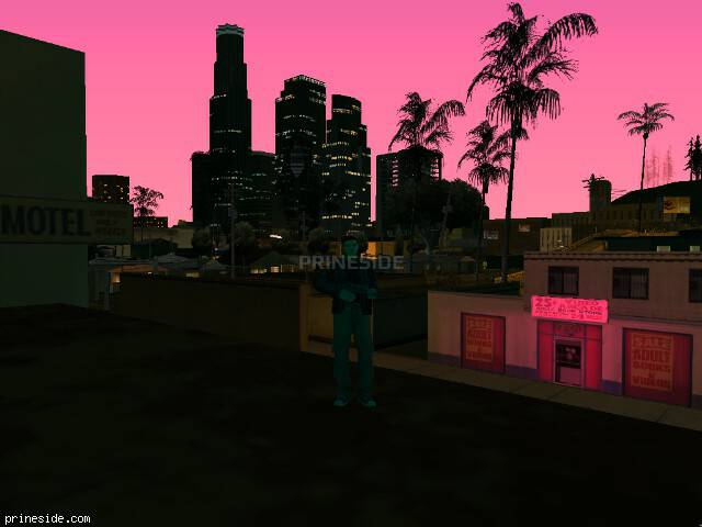 GTA San Andreas weather ID 117 at 22 hours