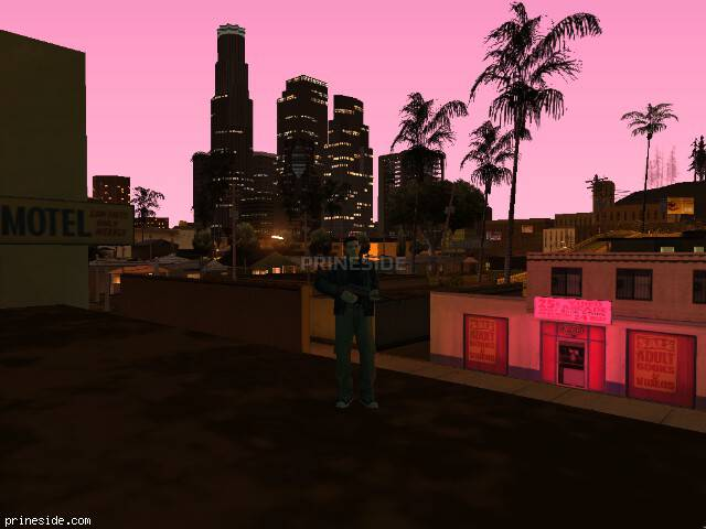 GTA San Andreas weather ID 629 at 23 hours