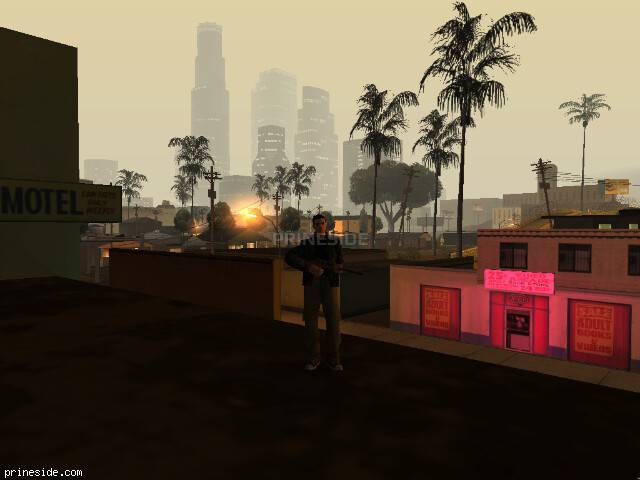 GTA San Andreas weather ID -139 at 2 hours