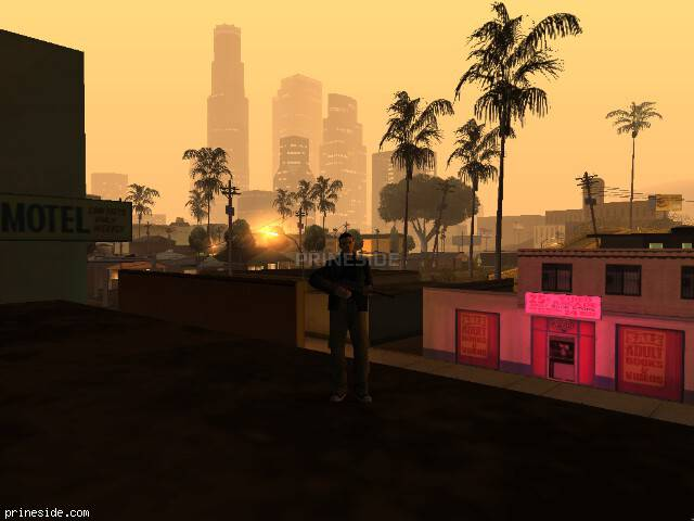 GTA San Andreas weather ID -139 at 4 hours