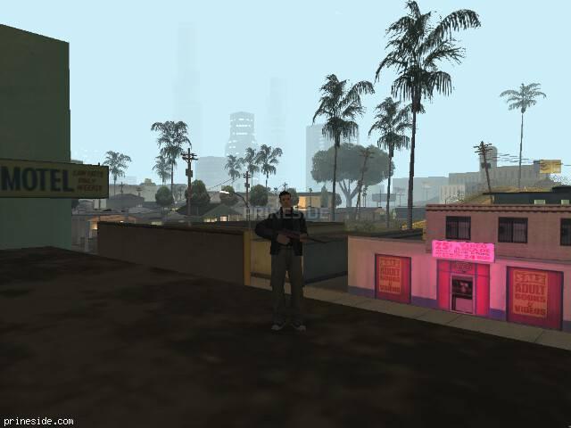 Просмотр погоды GTA San Andreas с ID 119 в 0 часов
