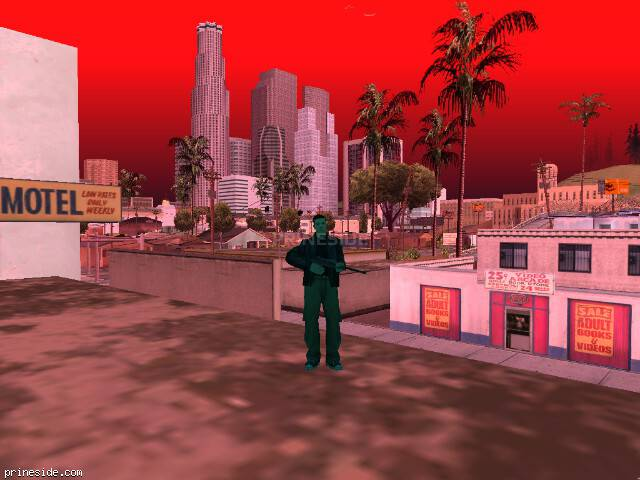 GTA San Andreas weather ID 119 at 14 hours
