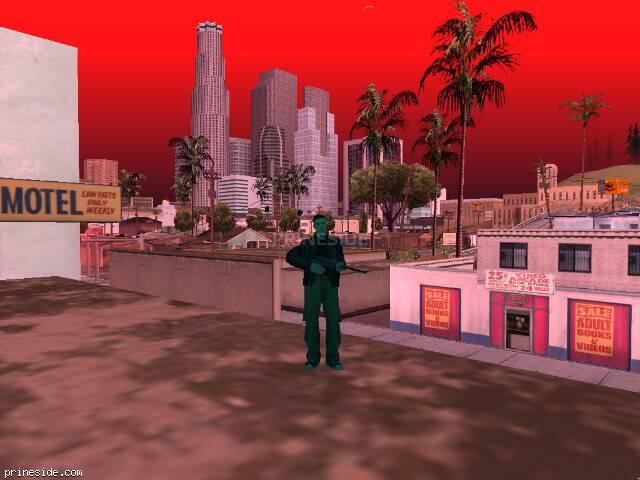 Просмотр погоды GTA San Andreas с ID 119 в 17 часов