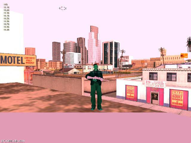GTA San Andreas weather ID 119 at 20 hours