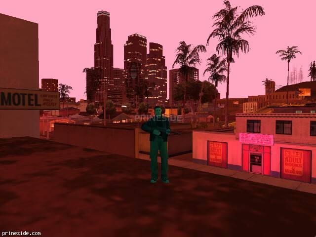 Просмотр погоды GTA San Andreas с ID 119 в 22 часов