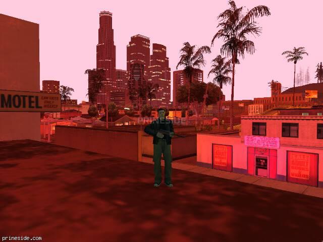 Просмотр погоды GTA San Andreas с ID 119 в 23 часов