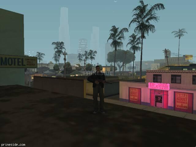 Просмотр погоды GTA San Andreas с ID 119 в 3 часов