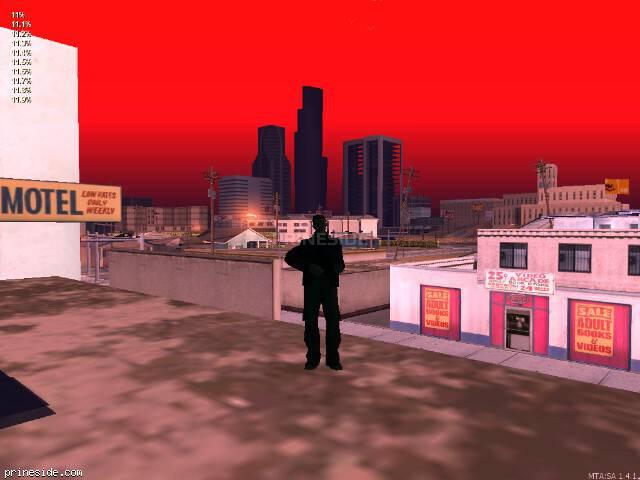 Просмотр погоды GTA San Andreas с ID 119 в 7 часов