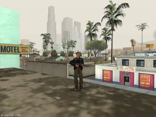 GTA San Andreas weather ID 12 at 16 hours