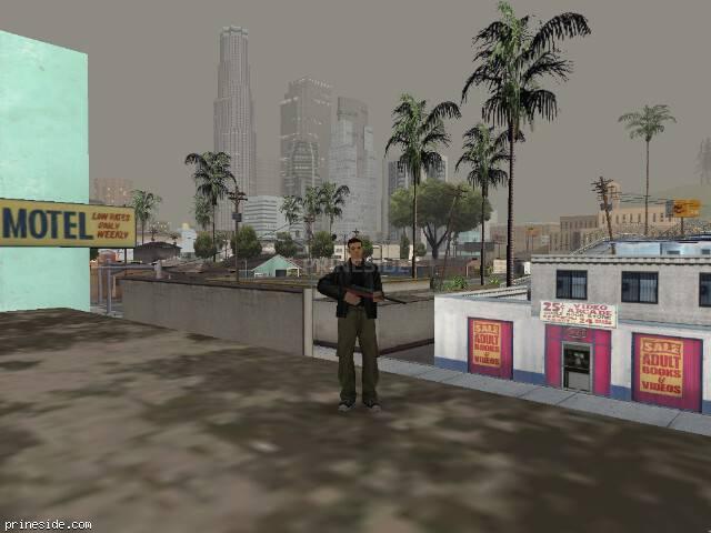 Просмотр погоды GTA San Andreas с ID 12 в 20 часов