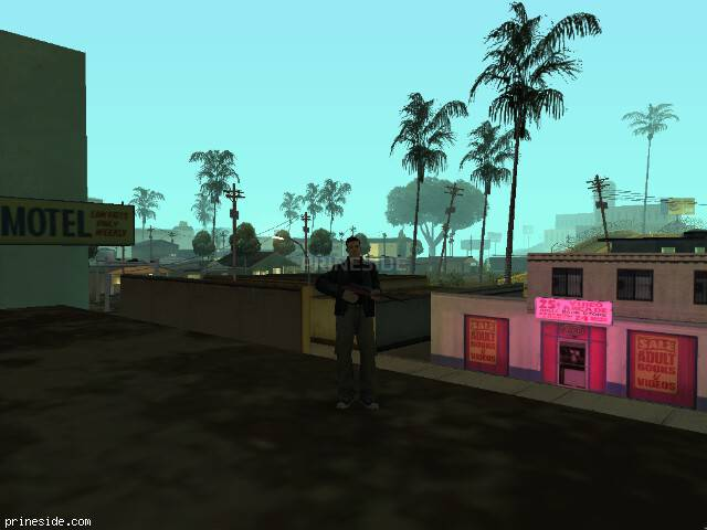 GTA San Andreas weather ID 1401 at 0 hours