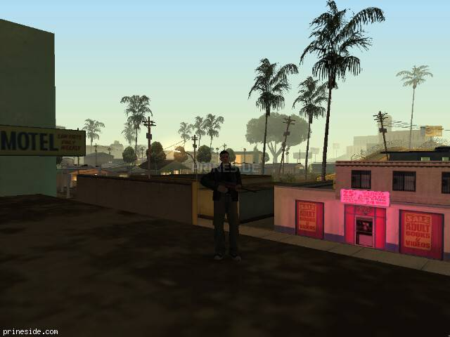 GTA San Andreas weather ID 121 at 3 hours