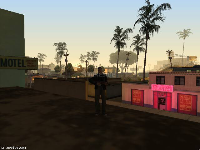 GTA San Andreas weather ID 121 at 4 hours