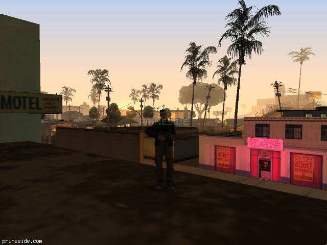 GTA San Andreas weather ID 889 at 5 hours