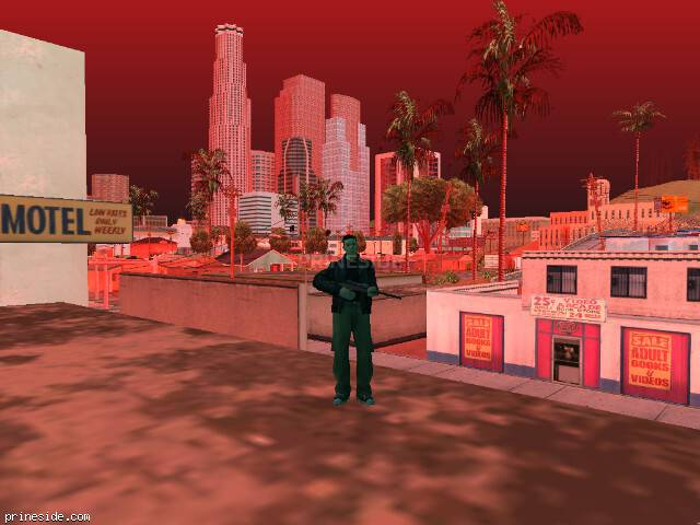GTA San Andreas weather ID -390 at 14 hours
