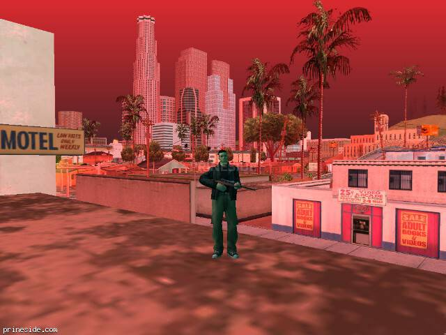 GTA San Andreas weather ID 890 at 18 hours