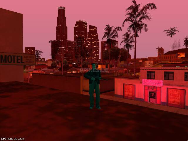 GTA San Andreas weather ID 122 at 21 hours