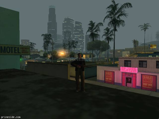 GTA San Andreas weather ID 122 at 2 hours