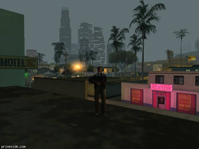 GTA San Andreas weather ID 122 at 3 hours